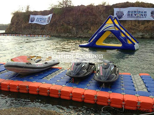 how to build a floating dock for jet ski