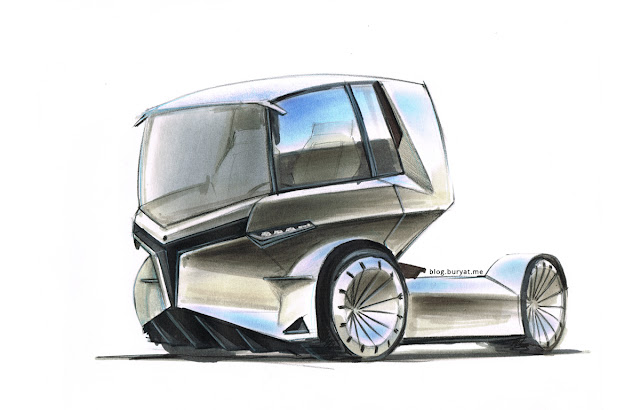 Y-Truck urban electric vehicle.