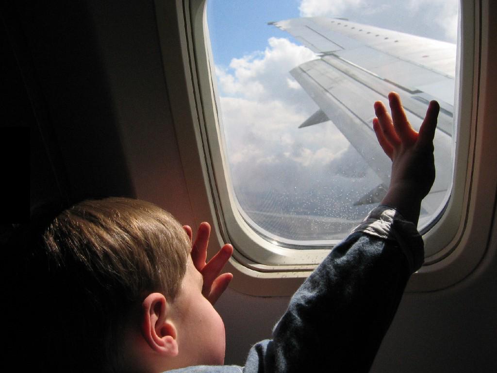 Consejos para volar con hijos