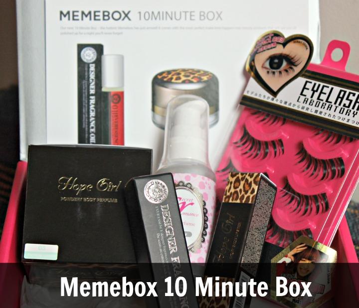 Memebox 10 Minute Box