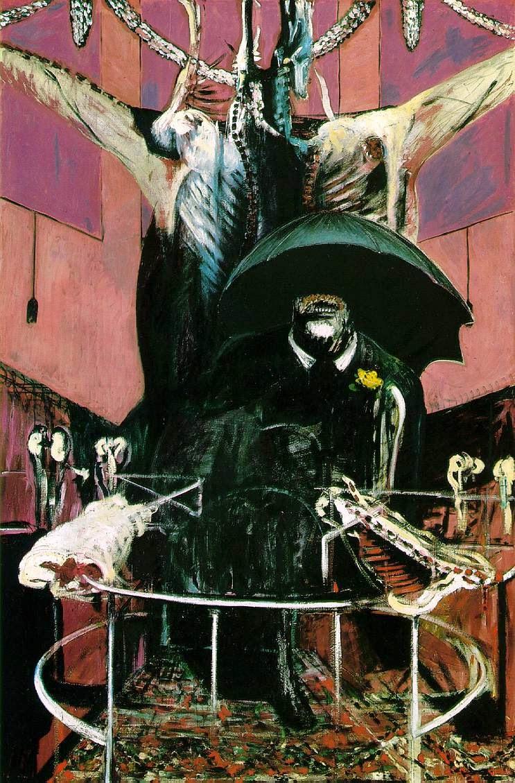 """Tableau de Francis Bacon, simplement intitulé """"Painting"""" (1946)"""