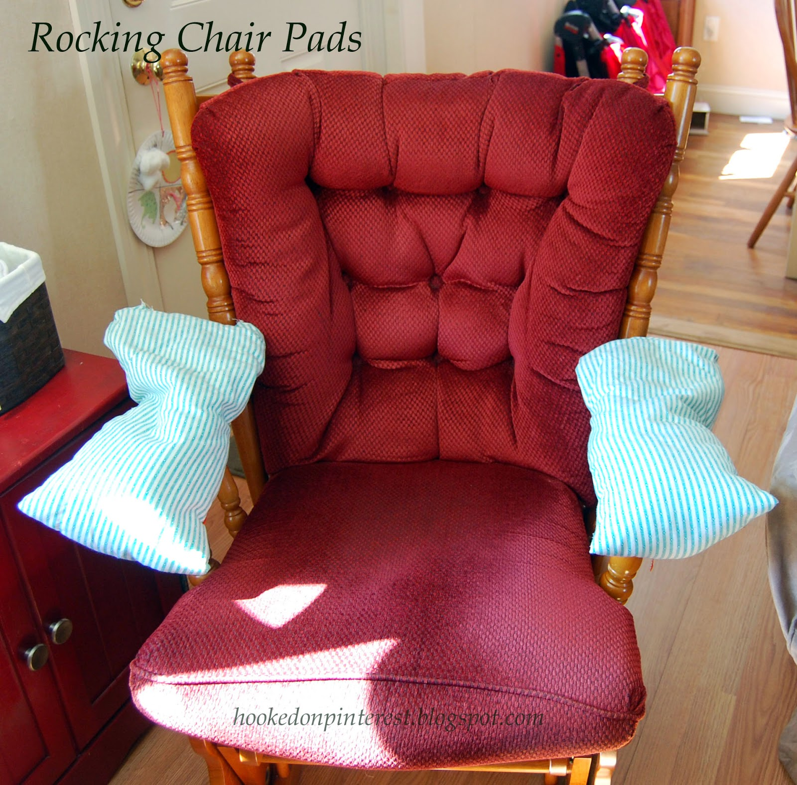 Hooked on Pinterest Rocking Chair Arm Pads