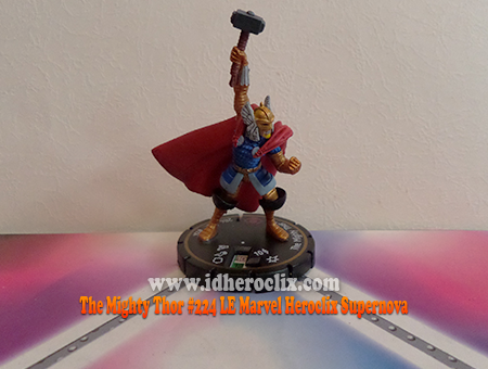 The Mighty Thor #224 LE Marvel Heroclix Supernova