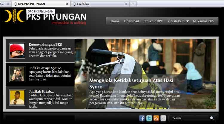 Web PKS piyungan: berbeda dalam bercerita ~ PKS Leuwiliang....Siap ...