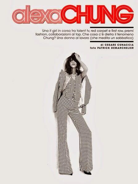 Ralph Lauren Spring 2014 B&W Plaid Suit