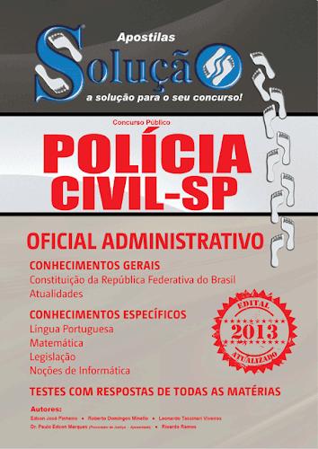 Polícia Civil-SP tem 6 concursos abertos entre 2013 e 2014 para 2.775 vagas