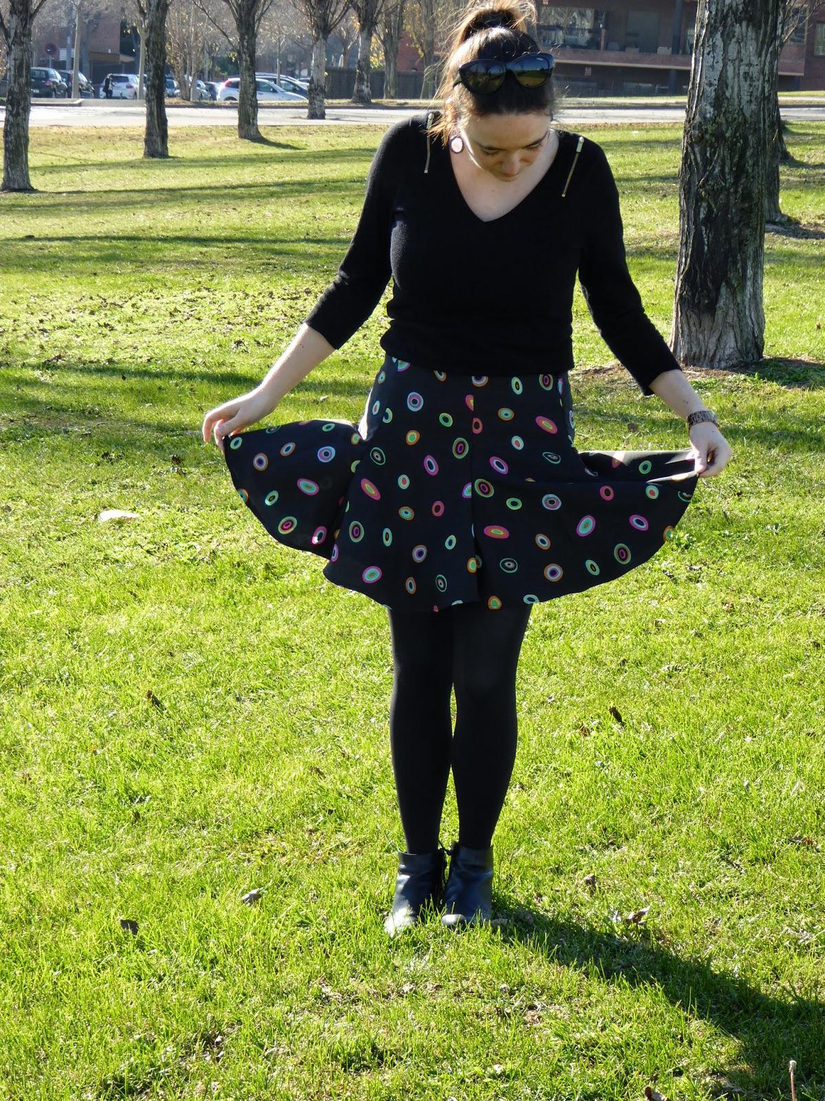 suopursu skirt ottobre design 05/2014 modistilla de pacotilla falda mujer chula