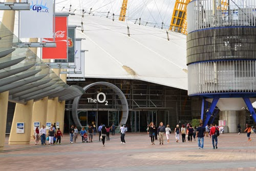 O2 adjacent to North Greenwich Station, London
