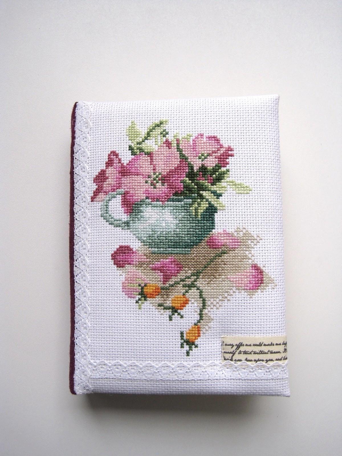 Опис пошуку Rose hips in a bowl Lanarte cross stitch вышивка крестиком блокнот ручной работы с нуля hand made notebook шиповник
