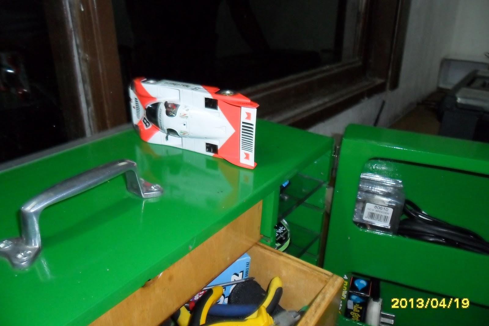 El garage slot lanus