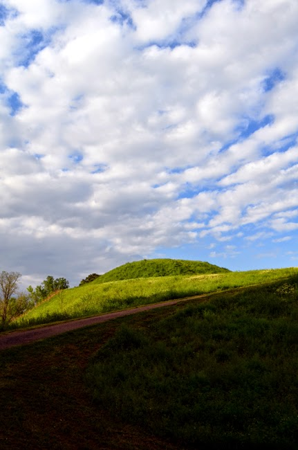 Emerald Mound, near Natchez, Mississippi