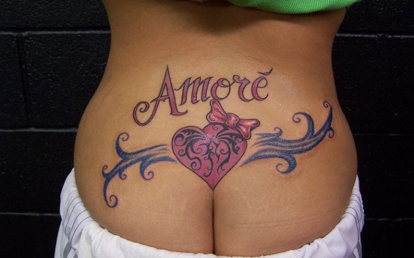 Amore Tattoo - Image Copyright BlogSpot.Com