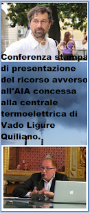 CONFERENZA STAMPA DI PRESENTAZIONE DEL RICORSO AVVERSO  ALL'AIA  CONCESSA ALLA CENTRALE...