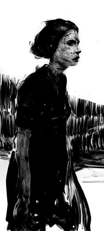 Ivan Solyaev pinturas digitais fantasmagóricas sombrias e depressivas photoshop