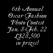 Oscar Fashion Photo Contest