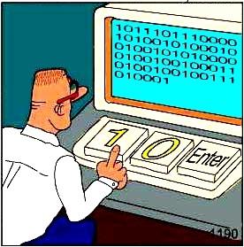 Programlama dili vardır bilgisayarın anladığı dil makine dili