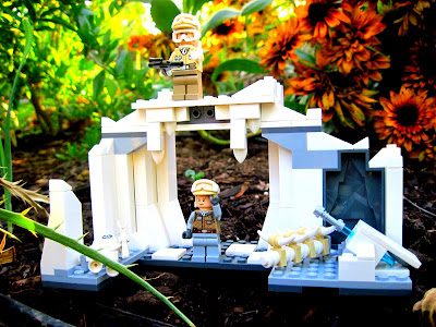Wordless Wednesday: Lego Fun in the Garden