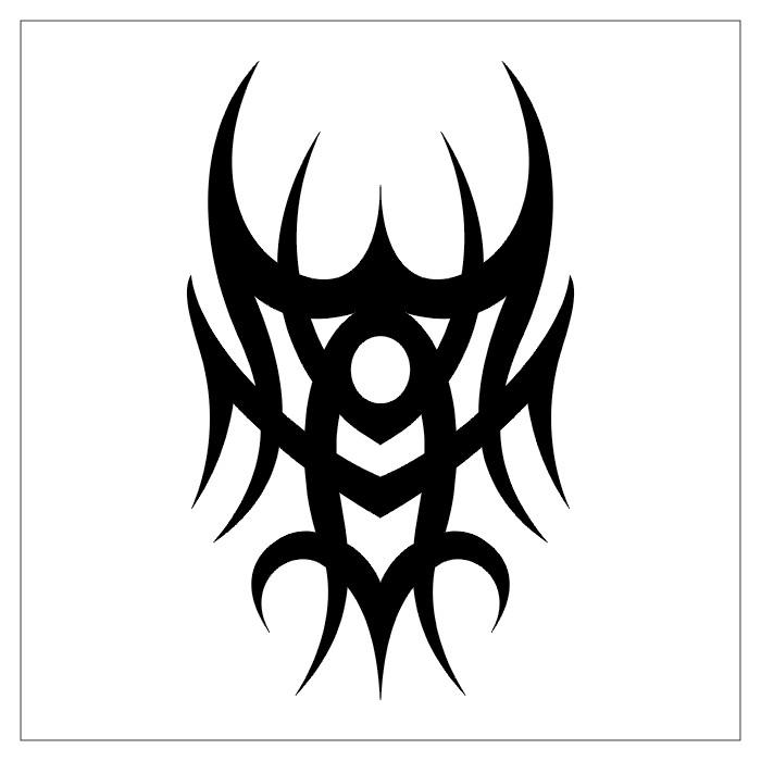 Cool Easy Tattoo Designs Draw Easy Tribal Tattoo Designs