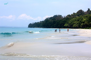 """Havelock Island in India"""