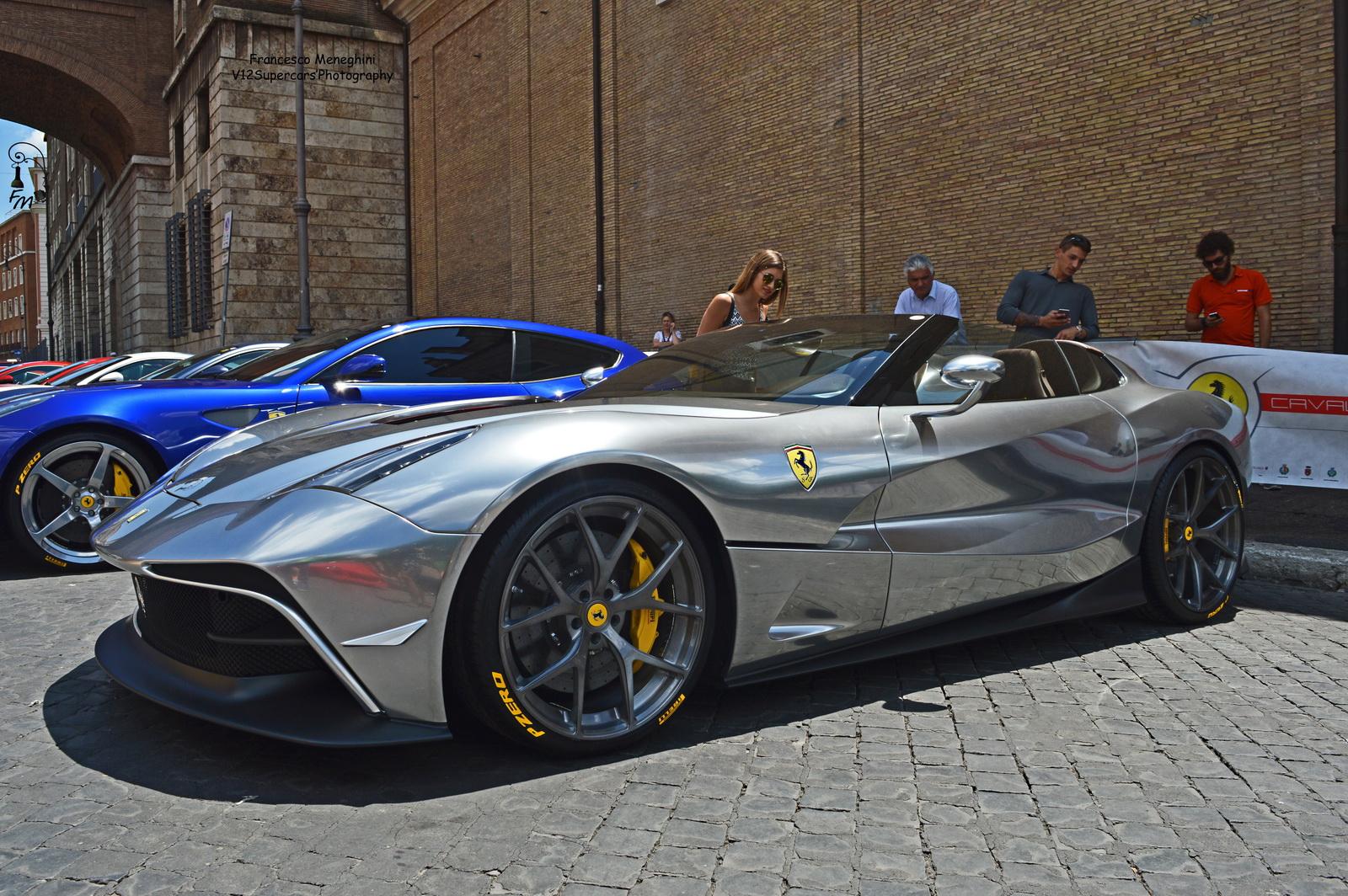 Ferrari F12 Tdf Price >> Unique Chrome-Silver Ferrari F12 TRS Spotted In Rome | Carscoops