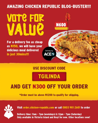 You Can Now Order Online From Chicken Republic