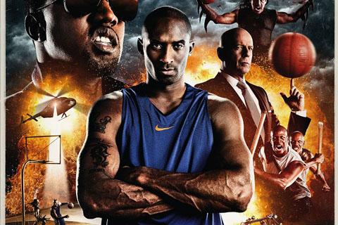 Nike The Black Mamba film small - Black Mamba de Robert Rodriguez.