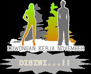 Info Lowongan Kerja Kota Sidoarjo November 2013