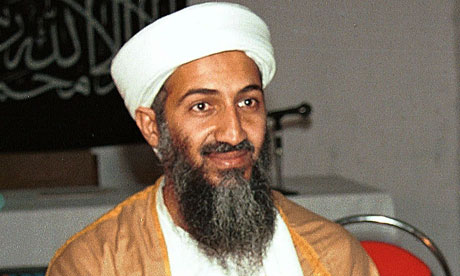 i know where bin laden is. 1) Yes, I know this is