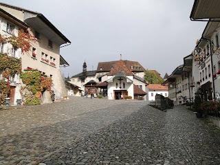 Gruyere medieval village