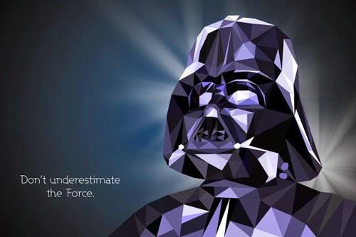 Star Wars Polygonal Portraits