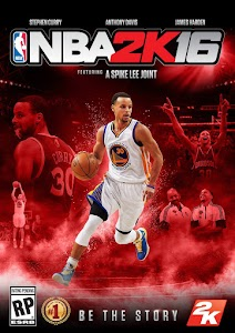 #NBA2K16 Official Cover : Stephen Curry