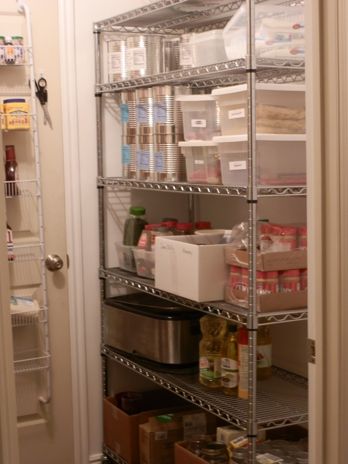 August 20 2013 & Prepared LDS Family: Pictures of My Food Storage Room