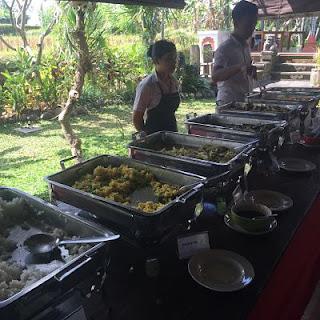 Desayunos en el Suly Resort. Ubud. Bali.