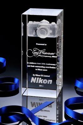Nikon UK Award from Grays of Westminster