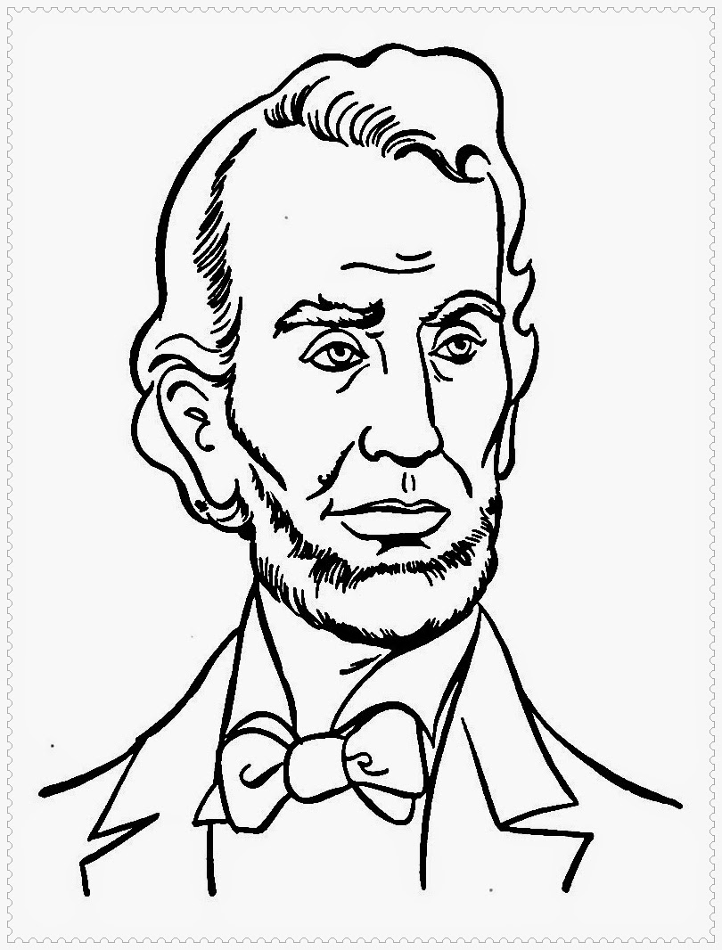 presidents day coloring pages holidays