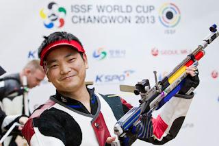 Wang Tao - China - Carabina de Ar 10m - Copa do Mundo ISSF 2013 - Tiro Esportivo