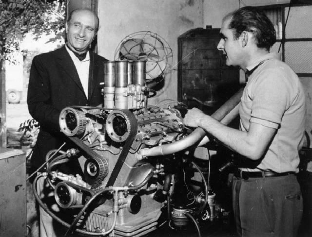 Fangio y Cicaré