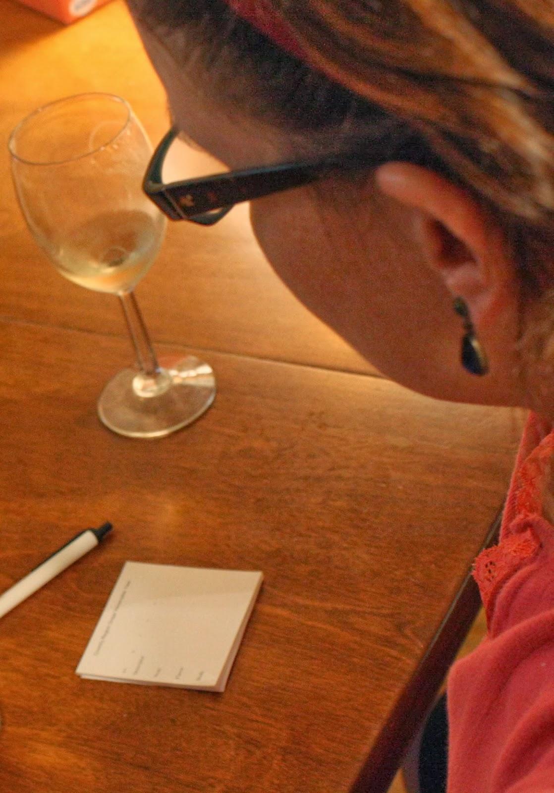 Wine Notes, Wine Tasting