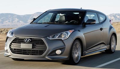 Hyundai Veloster Turbo.  201 HP From A Small 1.6 Liter Turbo  6 Speed  Manual Or Auto  27/38 MPG