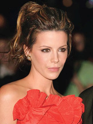 Famous Celebrity Updo Bun Hairstyle 4