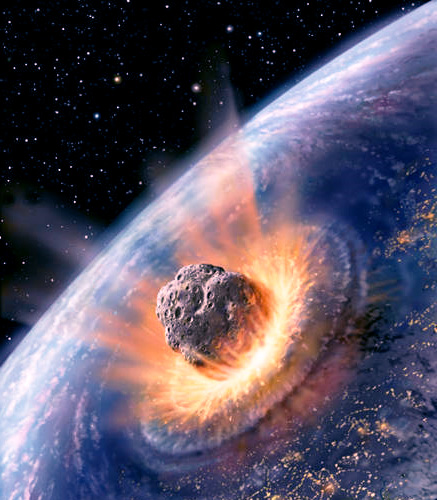 recent asteroid meteor hitting earth - photo #20