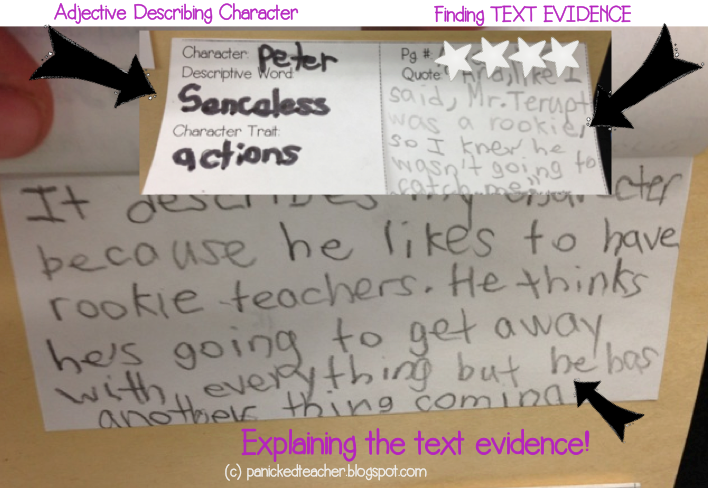 Text Evidence Minilessons