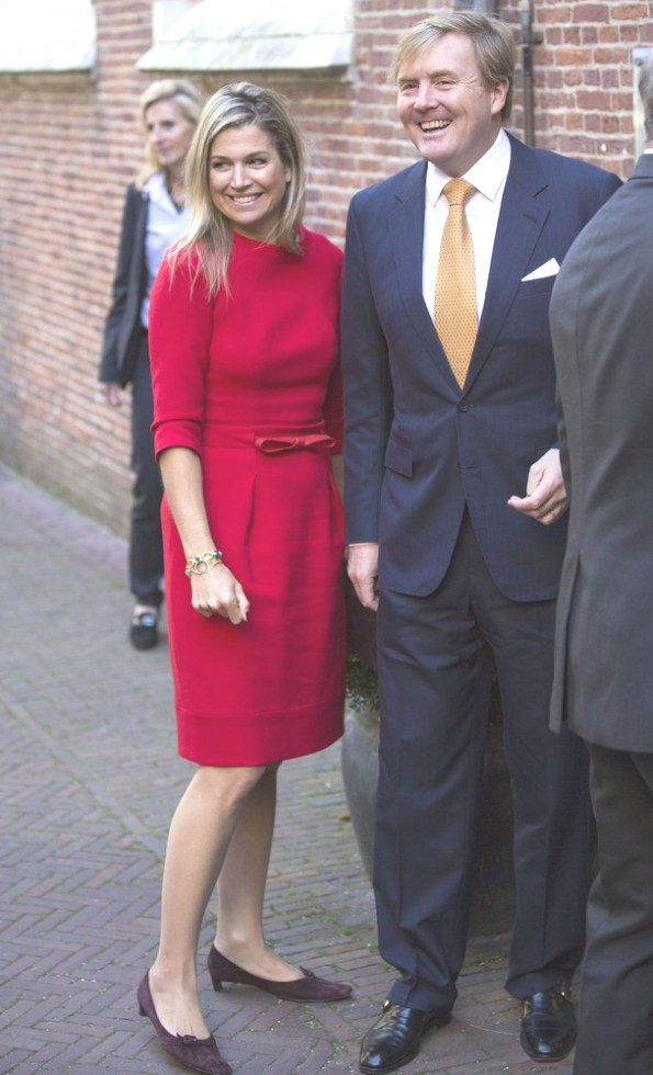 King Willem-Alexander And Queen Maxima Attended Symposium China In The Netherlands