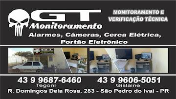 GT MONITORAMENTO EM SÃO PEDRO DO IVAÍ.
