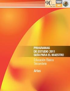 PLAN DE ESTUDIOS ARTES