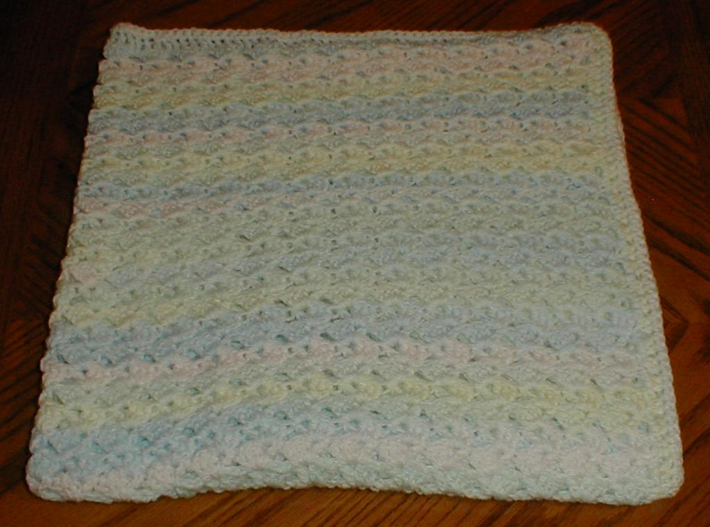 Crochet Quick Blanket : Karens Crocheted Garden of Colors: Quick and Easy Baby Blanket for ...