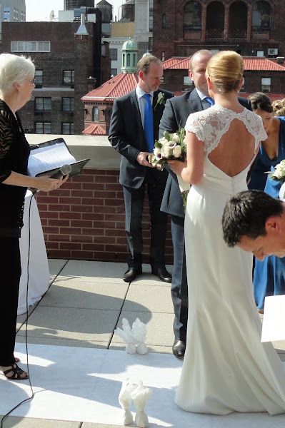 Manhattan Rooftop Ceremony