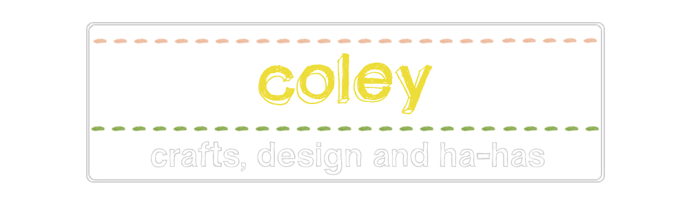 Coley clothing and design blog
