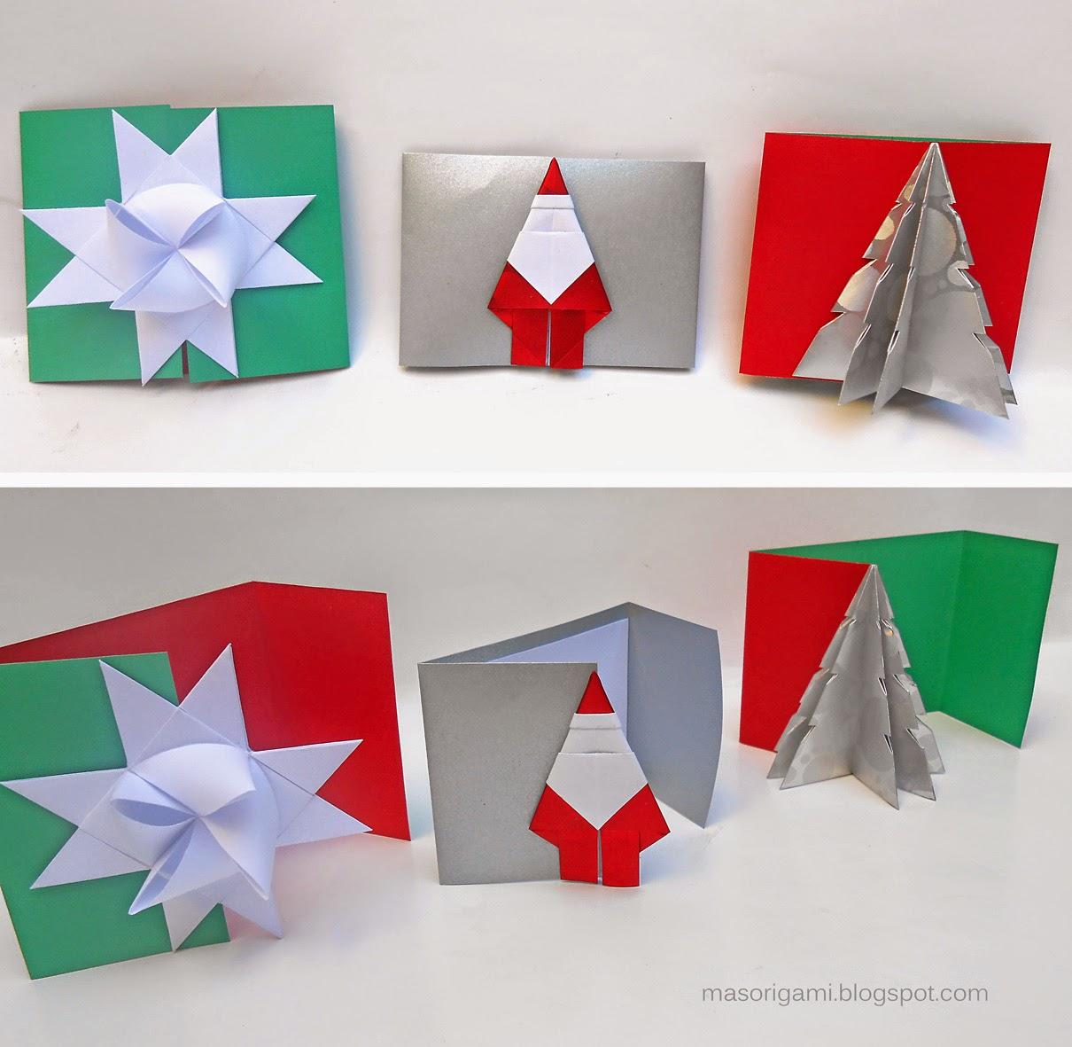 Postales Origami