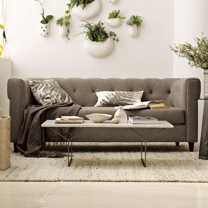 Stuck On Hue Crushing On Chester Sofa From West Elm